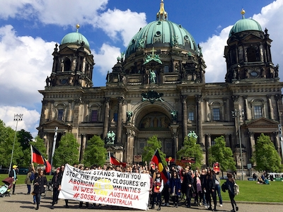 01.05.2015: DEMONSTRATION IN BERLIN