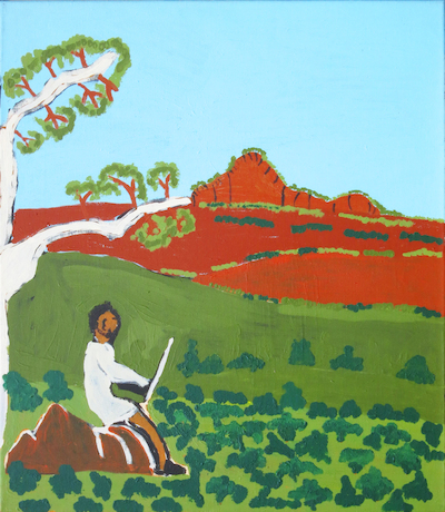 Vincent Namatjira: Albert Namatjira at Work
