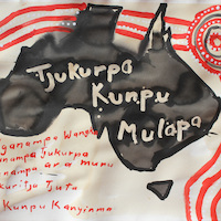 Mumu Mike Williams: Tjukurpa Kunpu Mulapa (Strong law and culture)