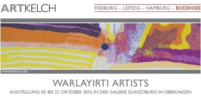 06.10. - 27.10.2012: PC WARLAYIRTI ARTISTS (BODENSEE)